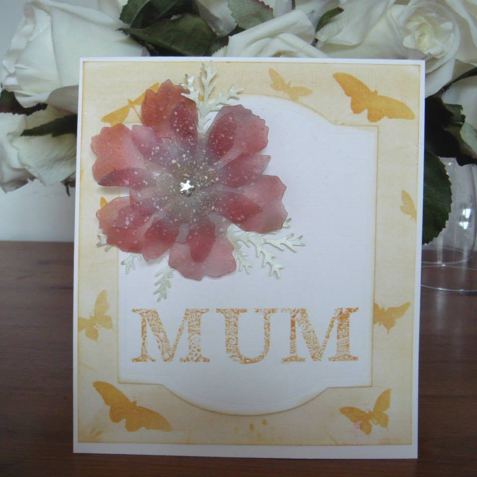 Mothers day card idea