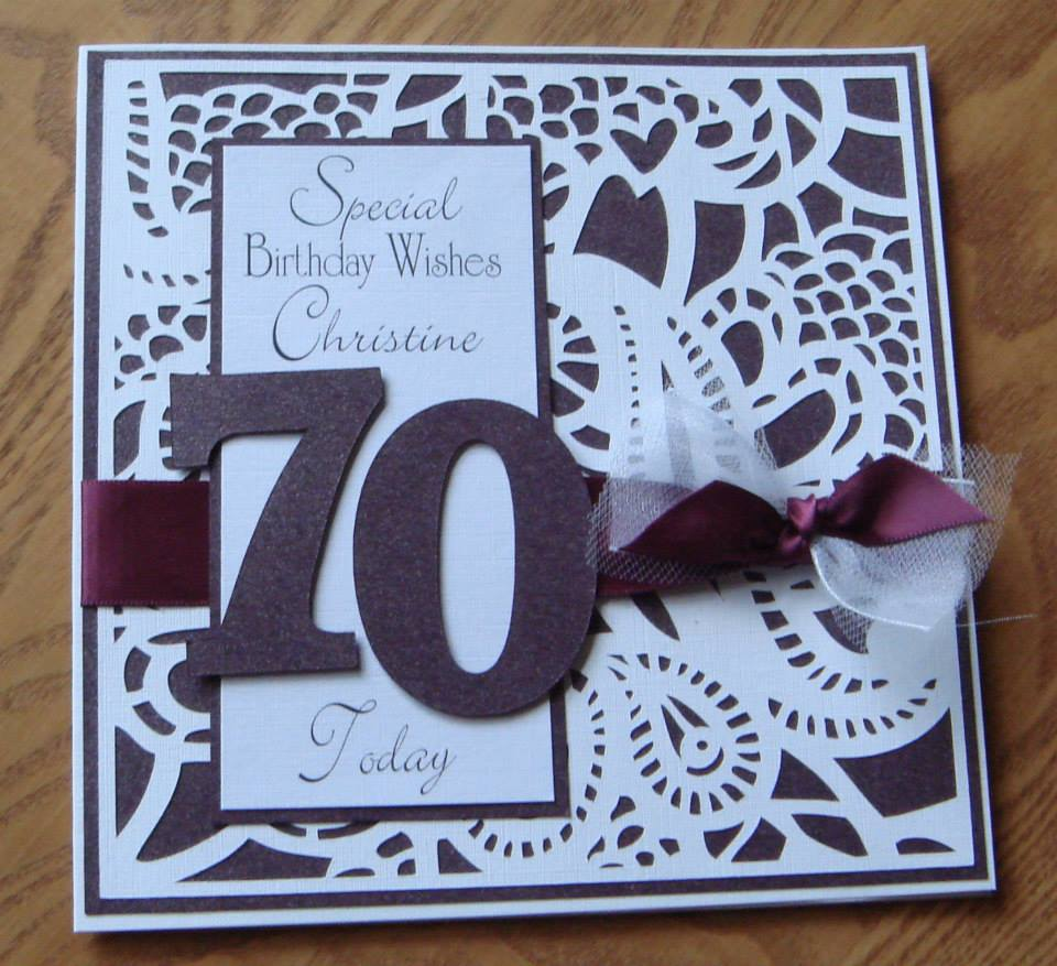 Garnet the birthstone for January and our latest card offer – Handmade 70th Birthday Cards