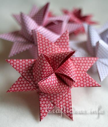 German Paper Star Tutorial