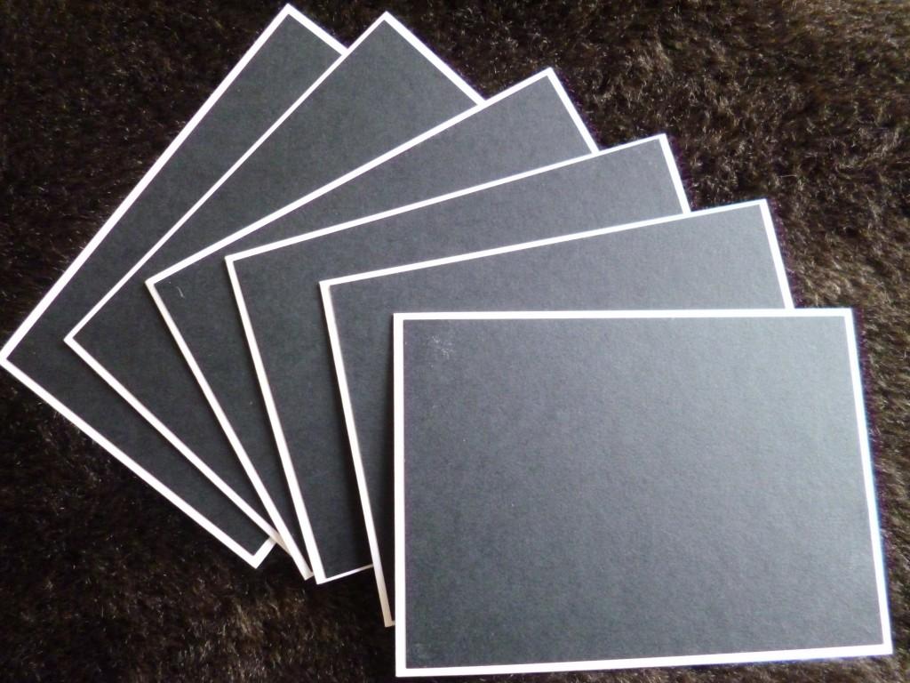batch card making card blanks