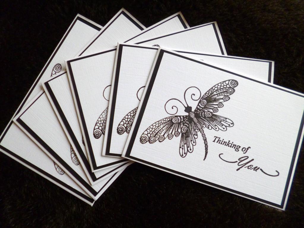 butterfly card blanks
