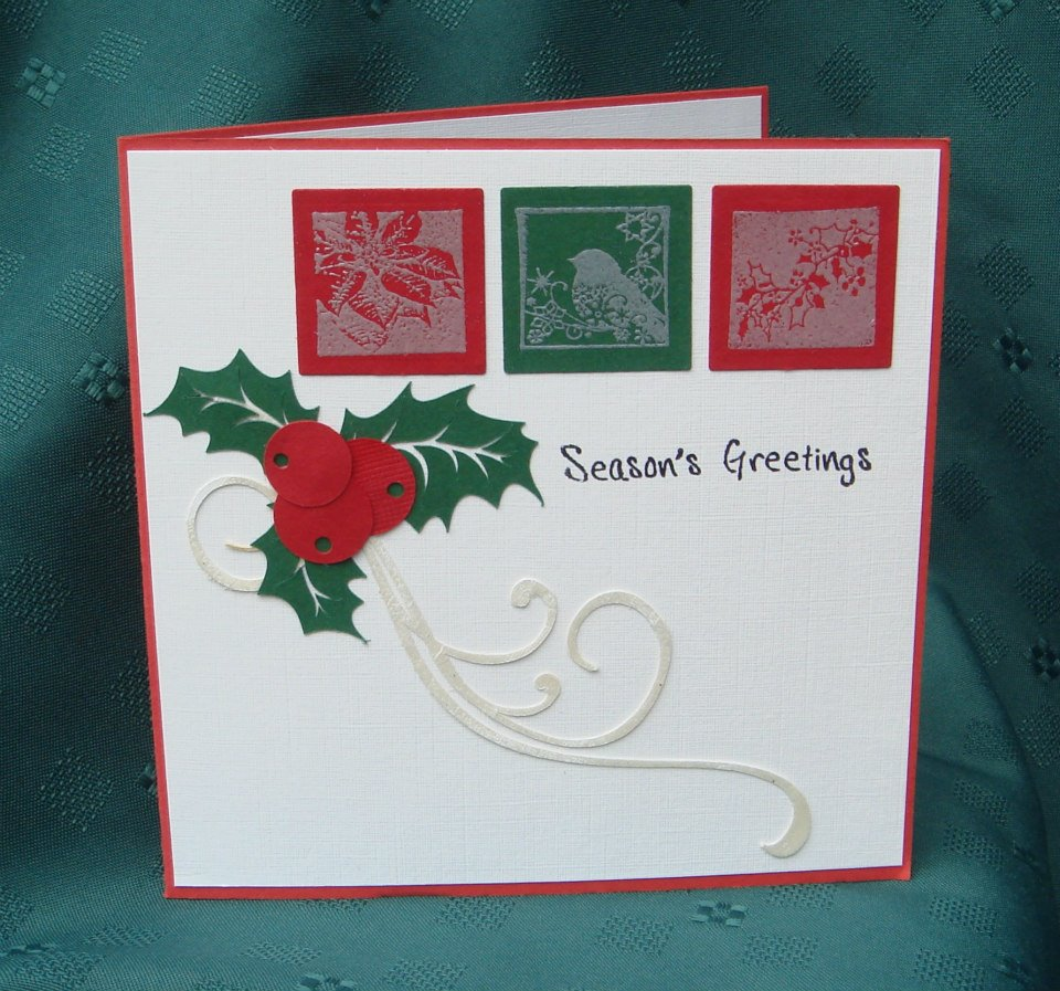 Craft Die Christmas Lamp Post Scrapbooking Holly U.K Cards Seller