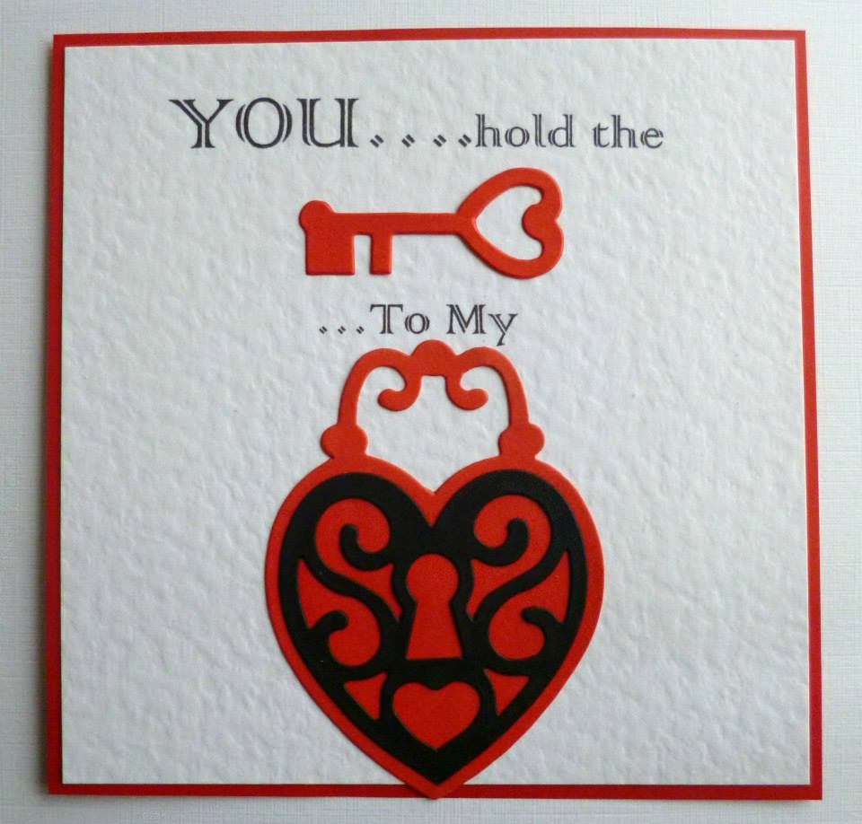 Handmade valentines day card ideas for What to put on a valentines card