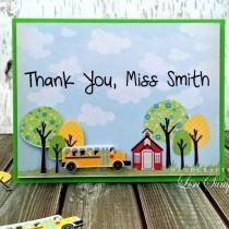 Project - Teacher's Thank You Card Idea