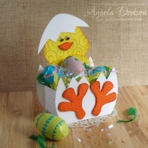 Easter Chick Gift Box