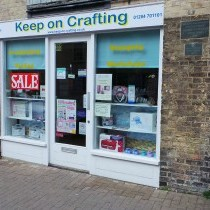 Papermilldirect High Street Partner - Keep on Crafting, Suffolk