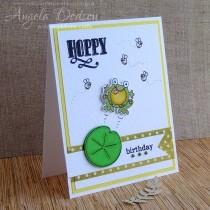 Hoppy Birthday Card - Step by Step Tutorial