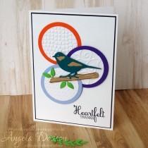 Heartfelt Thanks Card - Step By Step Tutorial