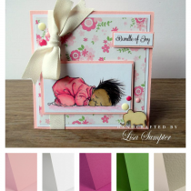 Project - New Baby Handmade Card Idea