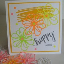A Neon Birthday Card To Brighten Your Day