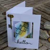 How To Make A Pop Out Swing Card