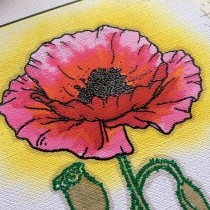 A Remembrance Day Tribute - Bee Crafty Poppy Appeal Stamp