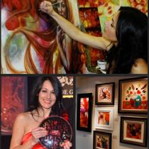 Meet Kerry Darlington - The UK's best selling published artist!
