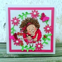 Handmade Card Inspiration - A pretty 'Any Occasion' card