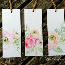 Pretty Watercolour Cards and Gift Tags with Clipart