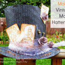 Make a Vintage Mad Hatters Hat!