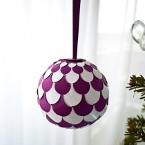 Woven Paper Bauble Tutorial