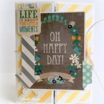 Oh Happy Day! - Gatefold Card Inspiration