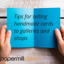 Selling handmade cards to high street shops and galleries