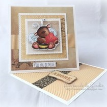 Bee Mine - Valentine's Card