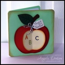 How to make a Thank You Teacher Apple Card