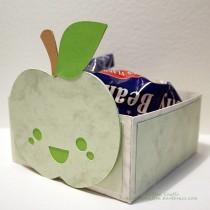 Cute Apple Teacher Gift Box