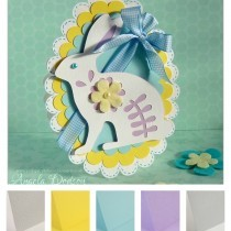 Project - Fresh Easter Bunny Handmade Card