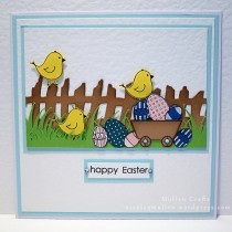 Easter Scene Card