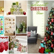 12 DIY Advent Calendar Ideas that will have you reaching for your hot glue gun and craft stash!