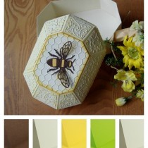 Project - Handmade Gift Box and Soap Wrap