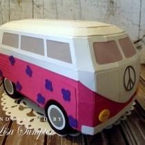 Paper Campervan Gift Box!