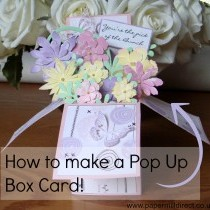 How To Make A Pop Up Box Card