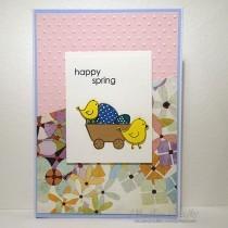 Spring Chicks - Card making inspiration