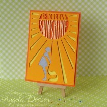 Be Your Own Sunshine…Tangerine Special Offer Card