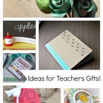 Papercraft Tutorials! - Teacher Gift Ideas