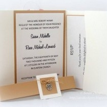 Wedding Stationery - Invitation Inspiration in White & Buff!