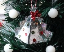 Easy Christmas Tree or Table Favour Boxes – Mirri Holographic Blast Card