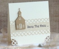 Save The Date Card - Simple Step by Step Tutorial