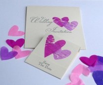 Wedding Stationery - Save The Date Idea