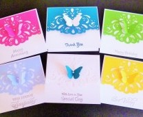 How to Save Time and Money Making Handmade Cards ....by Barbara Daines.