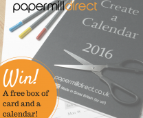 Win a Box of Card and a 2016 Create-a-Calendar!