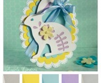 Project - Fresh Easter Bunny Handmade Card