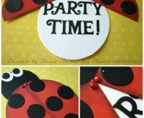 Ladybird Invitation Idea for a Kids Party
