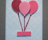 Last minute Valentine's day card idea