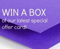 Card Giveaway - Win a Box of Card!