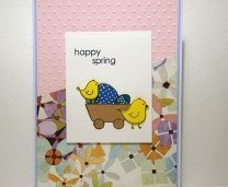 Spring Chicks - Card making inspiration