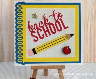 Back to School Card - Step by Step Tutorial