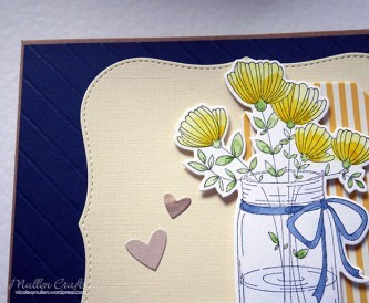 Mothers Day Card Idea -  Watercolour Flowers