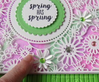 A Spring Card -Step by Step Tutorial