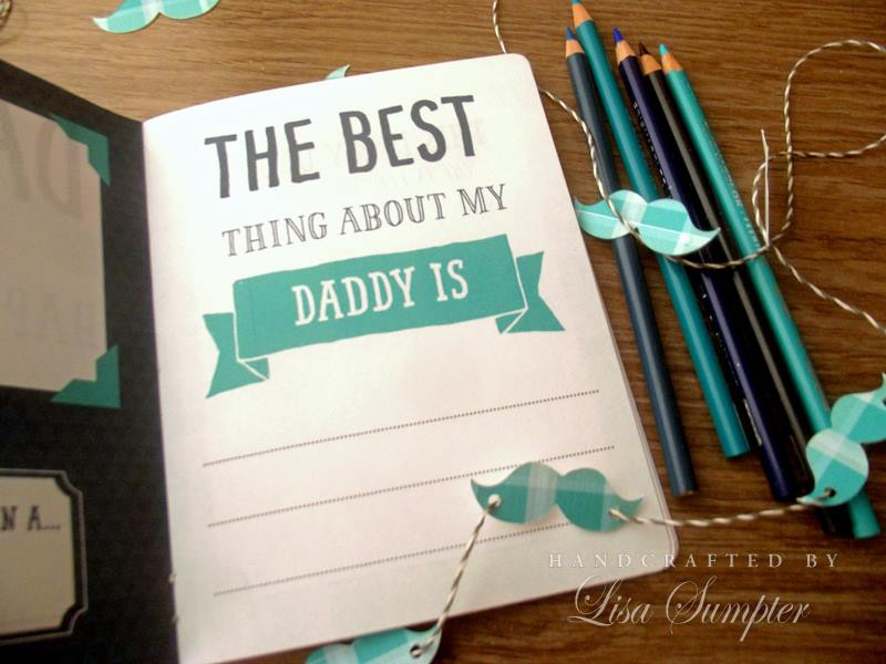 The best daddy book printable free
